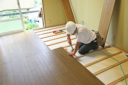 床の張り替え工事(バリアフリー住宅改造)