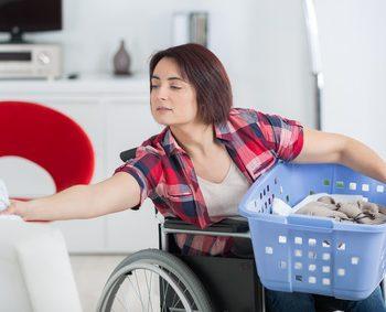 車椅子 掃除