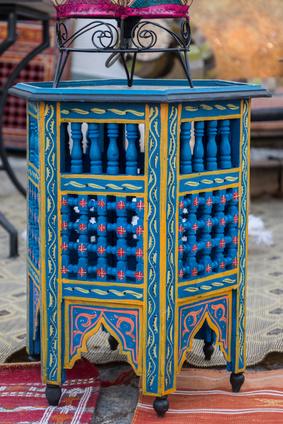 モロッコのテーブル